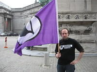 Pirate Party Belgium Flash Mob